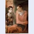 Acrobate et jeune arlequin4 1905