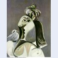 Buste de femme a l oiseau 1970