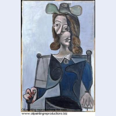 Buste de femme au chapeau 1941 - Pablo Picasso [French] - Oil ...