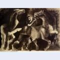 Chevaux et personnage 1939
