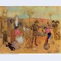 Famille de bateleurs 1905