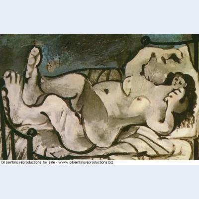 Femme nue couchee 1964