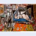 Femme nue dans l atelier 1953