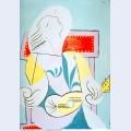 Jeune fille a la guitare 1932