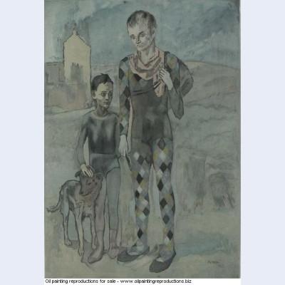 Les saltimbanques 1922