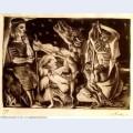 Minotaure aveugle guide par une fillette dans la nuit ivb suite vollard l92 1934