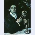 Portrait bleu de angel f de soto 1903