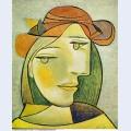 Portrait de femme au chapeau 1938