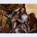 Holy family with st catherine and the infant st john
