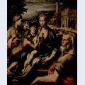 Madonna with saint zacharias