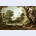 Landscape with nymphs and satyrs