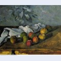 Apples and a napkin 1880