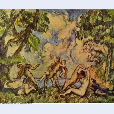 Bacchanalia the battle of love 1880