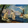 Bathers and fisherman with a line 1872