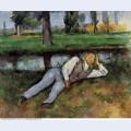 Boy resting 1890