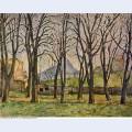 Chestnut trees at the jas de bouffan 1887