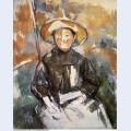 Child in a straw hat 1902