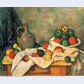 Curtain jug and fruit 1894