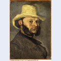 Gustave boyer in a straw hat