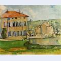 House and farm at jas de bouffan 1887