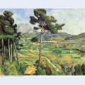 Landscape with viaduct montagne sainte victoire 1887