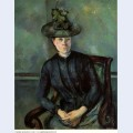 Madame cezanne with green hat 1892