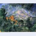 Montagne sainte victoire and the black chateau
