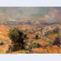 Mount sainte victoire seen from gardanne 1886