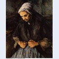 Old woman with a rosary 1896