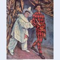 Pierrot and harlequin mardi gras 1888