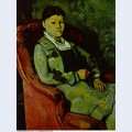 Portrait of madame cezanne 1881