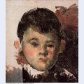 Portrait of the artist s son 1878
