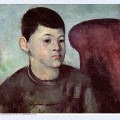 Portrait of the artist s son 1885
