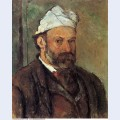 Self portrait with white turbaned 1882