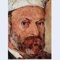 Self portrait with white turbaned detail 1882