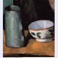 Still life bowl and milk jug