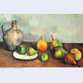 Still life pitcher and fruit 1894
