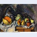 Still life with fruit and a ginger pot