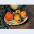 Still life with pomegranate and pears 1890