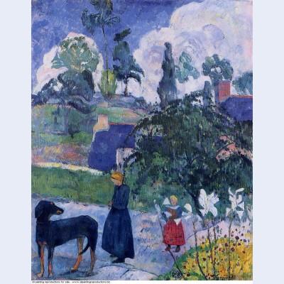Among the lillies 1893
