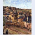 Blue roofs of rouen 1884