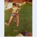 Breton boys wrestling 1888