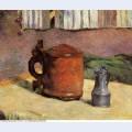 Clay jug and irin mug 1880