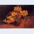 Evening primroses in the vase 1885