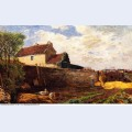 Geese on the farm 1879