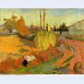 Landscape at arles 1888