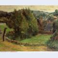 Landscape at pont aven 1886