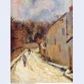 Osny rue de pontoise winter 1883