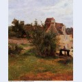 Osny the gate of busagny farm 1884