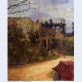 Pissarro s garden pontoise 1881